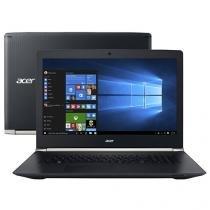 "Notebook Acer E Series Nitro Intel Core i7 16GB - 1TB 256GB LCD 17,3"" Placa de Vídeo 4GB Windows 10"