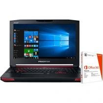 """Notebook Acer Predator Intel Core i7 - 16GB 1TB LED 17,3"""" + Pacote Office 365"""