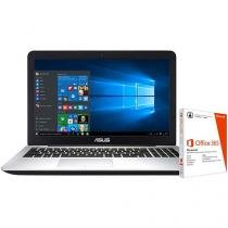 """Notebook Asus K555LB Intel Core i5 - 8GB 1TB LED 15,6"""" + Pacote Office 365"""
