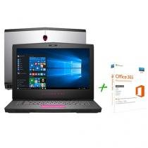 "Notebook Dell Alienware 15 AW-15R3-A40 Intel Core - i7 16GB 1TB Tela 15,6"" + Office 365 Personal"
