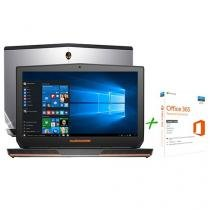 "Notebook Dell Alienware 17 AW-17R3-A10 Intel Core - i7 8GB 1TB LCD 17,3"" + Office 365 Personal"