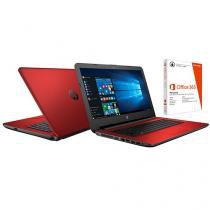 "Notebook HP 14-ac105br Intel Pentium 4GB 500GB LED - 14"" Windows 10 + Pacote Office 365 Personal"