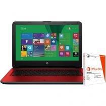 "Notebook HP 14-ac105br Intel Pentium - 4GB 500GB LED 14"" Windows 10 + Pacote Office 365"