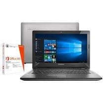 "Notebook Lenovo G40 Intel Core i5 4GB 1TB LED 14"" - Placa de Vídeo 2GB Windows 10 + Pacote Office 365"