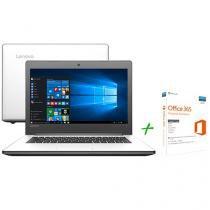 "Notebook Lenovo Ideapad 310 Intel Core i3 - 6ª Geração 4GB 500GB 14"" + Office 365 Personal"