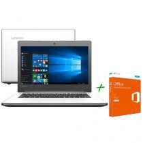 Notebook Lenovo Ideapad 310 Intel Core i3 - 6ª Geração 4GB + Office Home & Business
