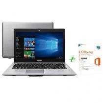 "Notebook Positivo Premium XR7556 Intel Core i3 - 4GB 500GB LED 14"" + Office 365 Personal"