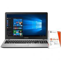 """Notebook Samsung Expert X50 Intel Core i7 - 8GB 1TB LED 15,6"""" + Pacote Office 365 Personal"""