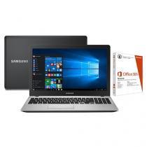 "Notebook Samsung Expert X50 Intel Core i7 - 8GB 1TB LED 15,6"" Windows 10 + Pacote Office 365"