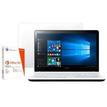 """Notebook Vaio Fit15F Intel Core i5 - 4GB 1TB LCD 15,6"""" Windows 10 + Pacote Office 365"""