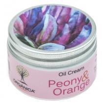 Oil Cream Peony e Orange Orgânica - Hidratante Corporal - Orgânica
