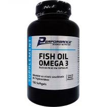 Omega 3 1000mg 100 Cápsulas Performance Nutrition - Performance Nutrition