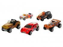 Pacote com 5 Carrinhos Hot Wheels - Mattel