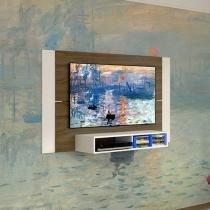"""Painel para TV até 52"""" Monet 1 Prateleira - Multivisão"""