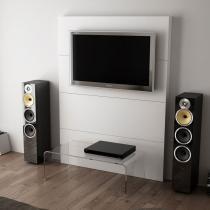 Painel Para TV ou Decoração Branco - BRV Móveis - Branco - BRV Móveis