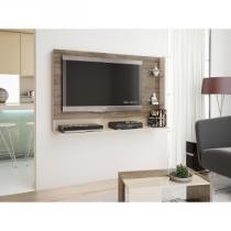 Painel Suspenso para TV de até 25 Kg Nogueira/Areia - Caemmun - Caemmun