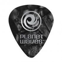 Palheta para Guitarra 10 Peças Preto Pérola 1CBKP4-10 - Planet Waves - Planet Waves