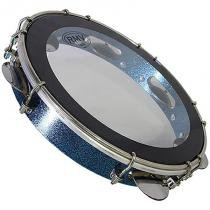 Pandeiro 10 Polegadas Sparkle Azul PTPA00128 - RMV - RMV