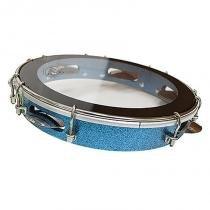 Pandeiro 10 Polegadas Sparkle Azul PTPA00148 - RMV - RMV