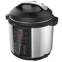 Panela de Pressão Elétrica Ello Classic - Master Cook Inox 1000W 6L Preto