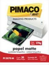 Papel Foto A4 170gr 20f Pi2070m Pimaco - 953010