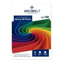 Papel Fotográfico 3D Ponto A4 180g Greenbelt 100 folhas GreenBelt