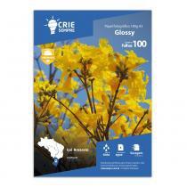 Papel Fotográfico A3 Glossy Brilhante 180g Crie Sempre PREMIUM 100 Folhas - Crie Sempre