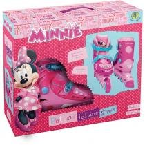 Patins Disney Minnie Tamanho 29 ao 32 - DTC - 29 a 32 - DTC