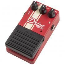 Pedal de Efeitos para Guitarra Drive Vermelho - Fender - Fender