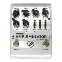 Pedal Nig Amp Simulator AS1 - Prata - NIG