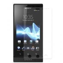 PelíCula Protetora Sony Ericsson Xperia Sola - Anti-Reflexo E Anti-Digitais - Diamant