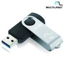 Pen Drive 32GB Twist USB 3.0 Preto PD989 - Multilaser - Multilaser