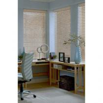 Persiana para Home Office/Quarto/Sala Pátina - Horizontal Bambu 120x140cm - Topflex Persianas