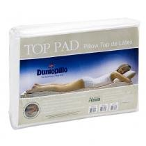 Pillow top de Látex Casal Queen size capa bambu 198 X 158 X 3 cm top pad dunlopillo - COPESPUMA