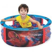 Piscina de Bolinhas Spider Man Homem Aranha 2053 - Lider - Lider Brinquedos