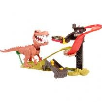 Pista de Ataque do T-Rex Hot Wheels Mattel - X4280