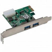 Placa PCI-E com 2 Portas USB 3.0 PU-2301 - C3 Tech - C3 Tech