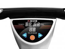 Plataforma Vibratória Lateral Kikos P200C - Display 3 Funções e Motor 300 Watts