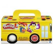 Play Doh Massa de Modelar com 20 Potes - Hasbro - Play-Doh