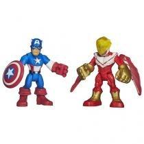 Playskool Heroes - Capitão América e Falcão - Hasbro
