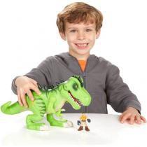 Playskool Heroes Jurassic World - Tyrannosaurus Rex com Acessório - Hasbro
