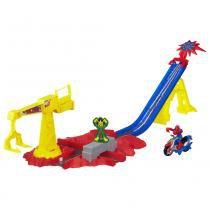 Playskool Heroes Marvel Pista Homem Aranha Crane Capture - Hasbro - Playskool