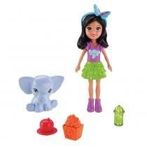 Polly Festa das Borboletas Crissy Zoo - Mattel - Mattel