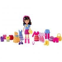 Polly Pocket - Boneca e Roupinhas - Crissy - Mattel - Polly Pocket