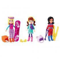 Polly Pocket Conjunto Diversão na Neve - Mattel - Mattel