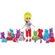 Polly Pocket Looks Especiais Rockeira - Mattel - Polly Pocket