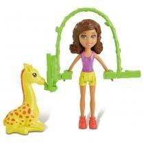 Polly Pocket Safari Shani Pula Corda - Mattel - Mattel