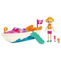 Polly Pocket Veículos Super Lancha - Mattel - Mattel