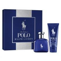 Polo Blue Eau de Toilette Ralph Lauren - Kit de Perfume Masculino 75ml + Gel de Banho 100ml - Ralph Lauren
