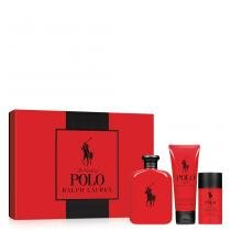 Polo Red Ralph Lauren - Masculino - Eau de Toilette - Perfume + Gel de Banho + Desodorante - Ralph Lauren
